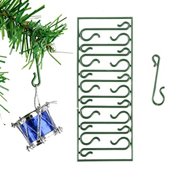 Image Unavailable. Image not available for. Color: Youbedo Christmas Tree  Ornament Mini Hooks ... - Amazon.com: Youbedo Christmas Tree Ornament Mini Hooks Xmas Decor