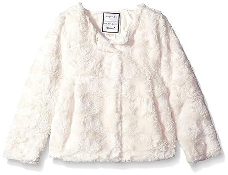 c400f3e8b9fb Amazon.com  Gymboree Girls  Toddler Faux-Fur Jacket  Clothing