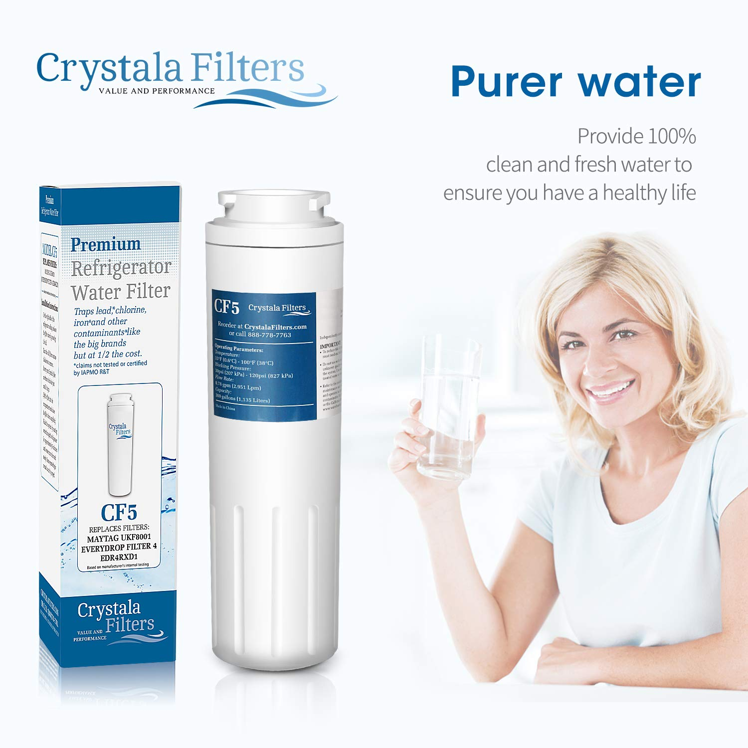 pur refrigerator water filter 4 ukf8001