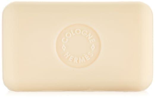 Three (3) Luxury Hermès Paris Eau d'Orange Verte Gift Soaps (total 15.6 Ounces/450 Grams) Of Beautifully Boxed Jumbo Perfumed Soaps / Savon Parfumes - Each Fragranced Hermès Jumbo Soap Is 5.2oz/150g
