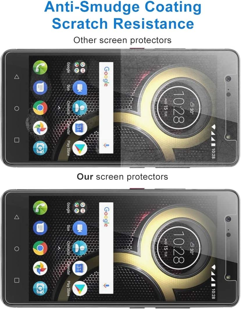 CAIFENG Tempered Glass Film Screen Protector 100 PCS 0.26mm 9H 2.5D Tempered Glass Film for Lenovo K8 Plus Anti-Scratch