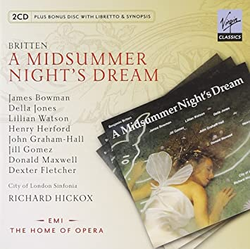 BRITTEN: A Midsummer Night's Dream / City of London Sinfonia