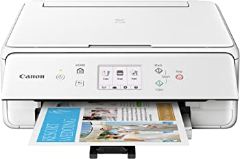 Canon TS6120 Wireless Inkjet All-in-One Printer/Scanner/Copier with Duplex