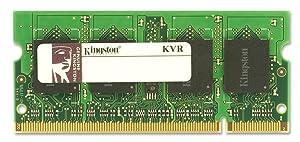 Kingston ValueRAM 2GB 800MHz DDR2 Non-ECC CL5 SODIMM Notebook Memory