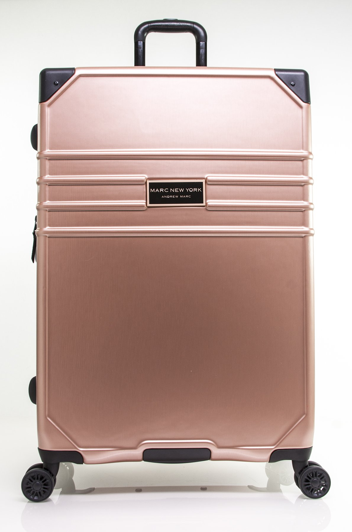 MARC NEW YORK Classic 28'' Expandable Hardside Spinner, Rose Gold