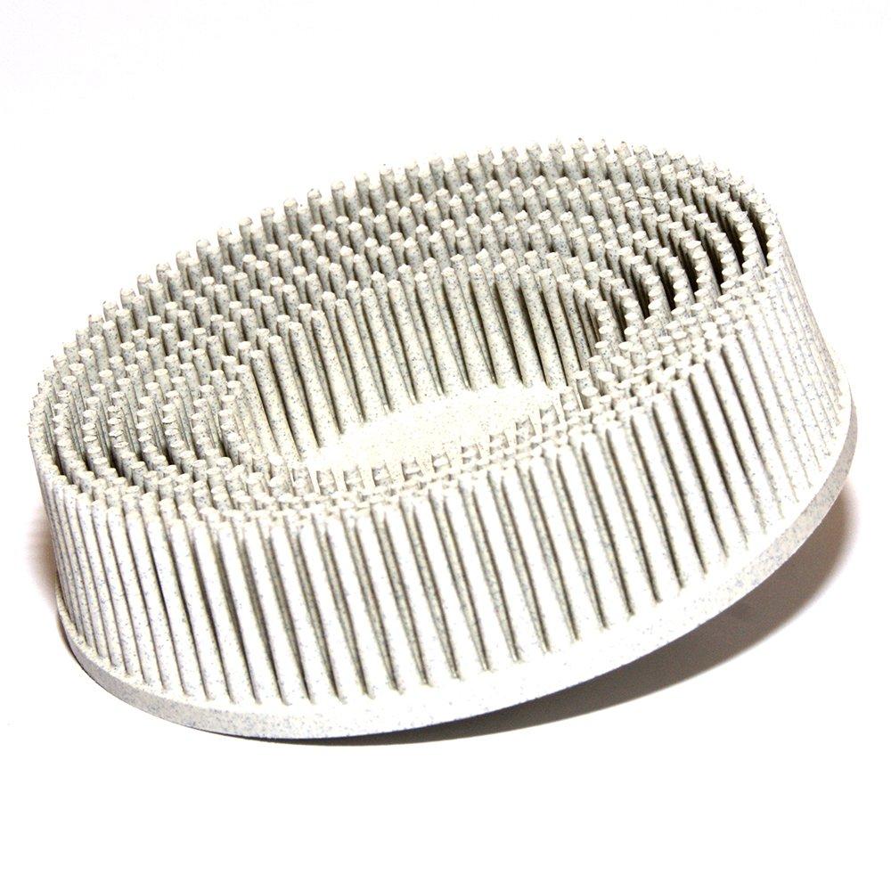 """3M Roloc Bristle Disc White 2"""" Diameter Grade 120 Grit Industrial Parts House"""