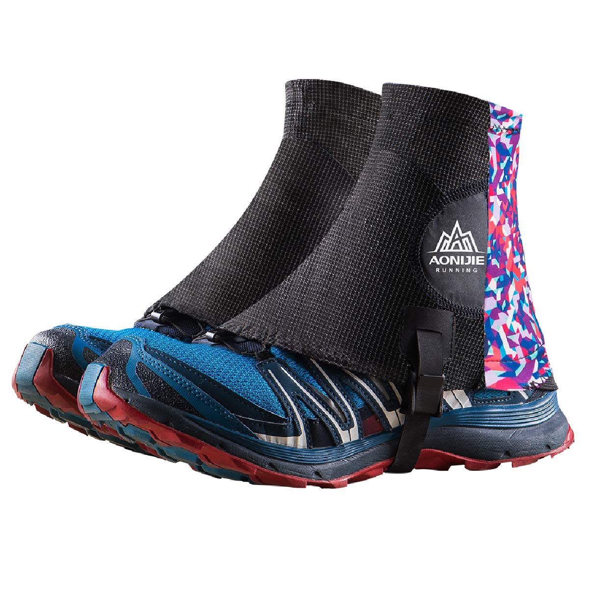 TRIWONDER Trail Gaiters Low Ankle Gators Reflective Running Gaiters with UV Protection for Men