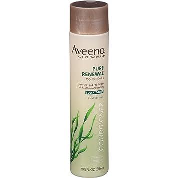 amazon com aveeno pure renewal conditioner sulfate free 10 5 fl