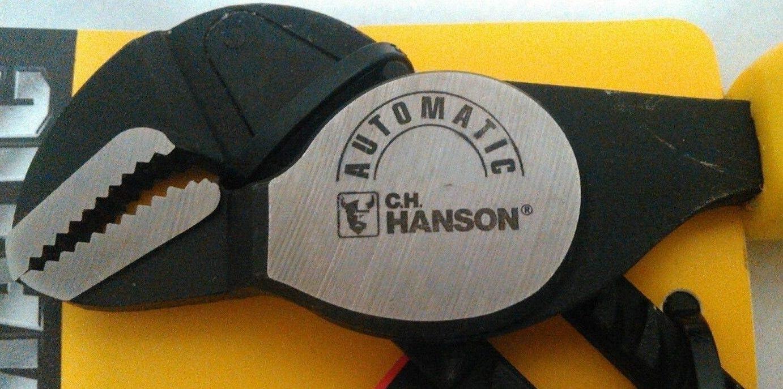 Hanson 20900 9.5-Inch Automatic Groove Pliers C.H Auto Grip