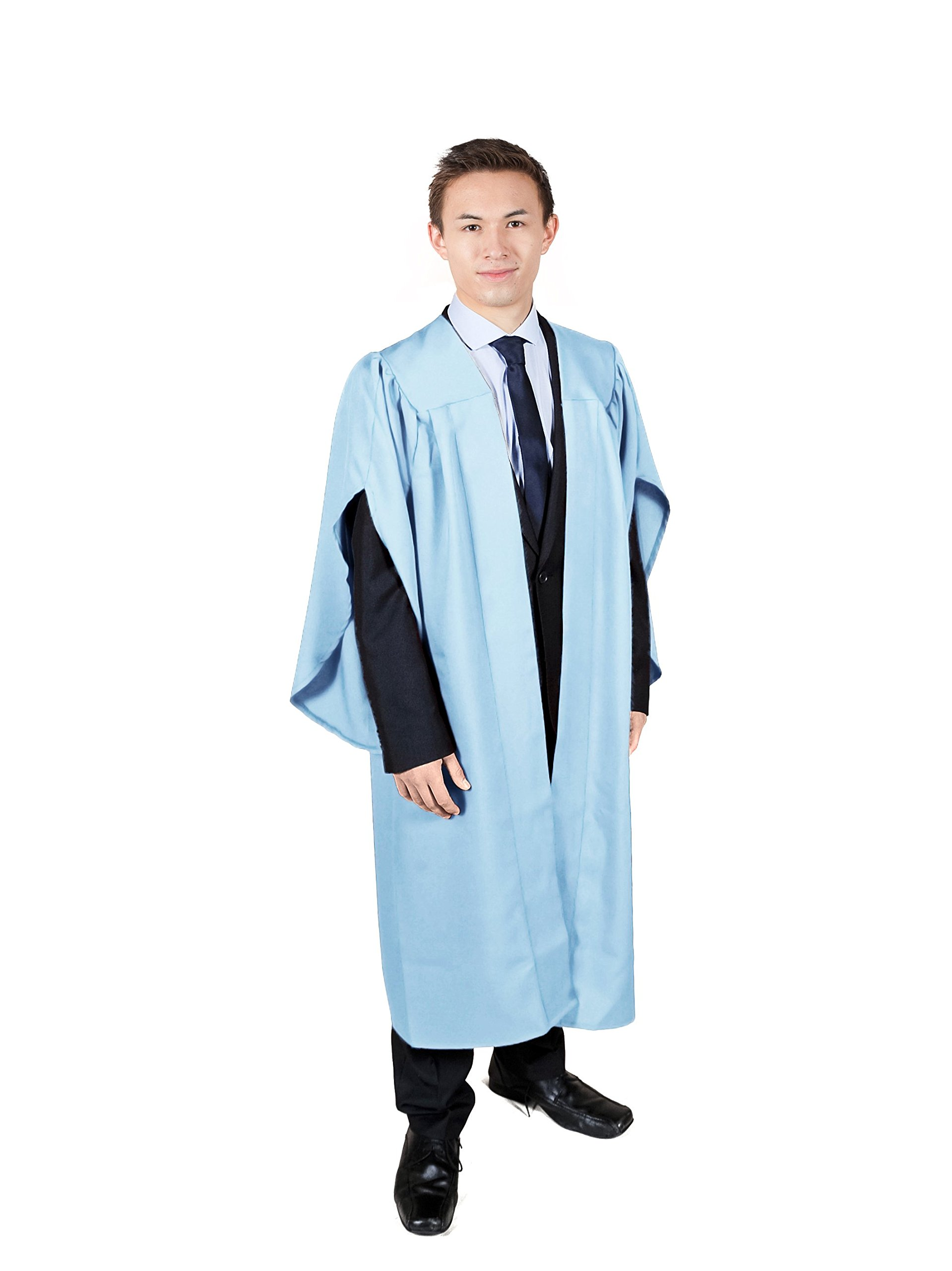 Graduation Attire Sky Blue Open Front Choir Robe (Height 5'3-5'5)