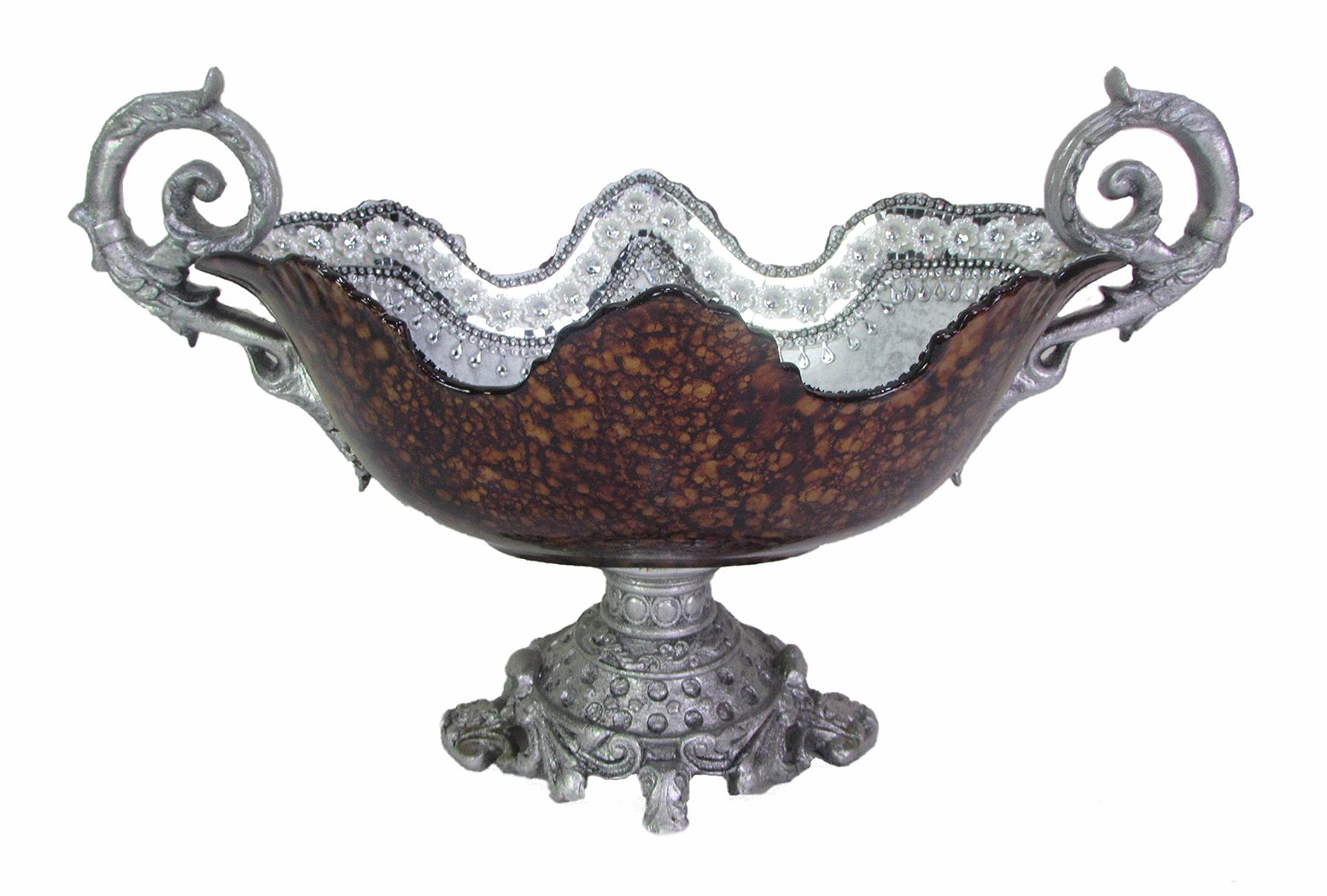 D'Lusso Designs 19 Inch Burgundy Centerpiece by D'Lusso Designs