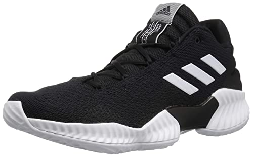new arrival ee851 cf8f2 adidas Men s Pro Bounce 2018 Low Basketball Shoe, White Black, ...