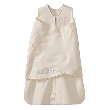 new style b972a 2b6be HALO Sleepsack 100% Cotton Swaddle, Cream, Small