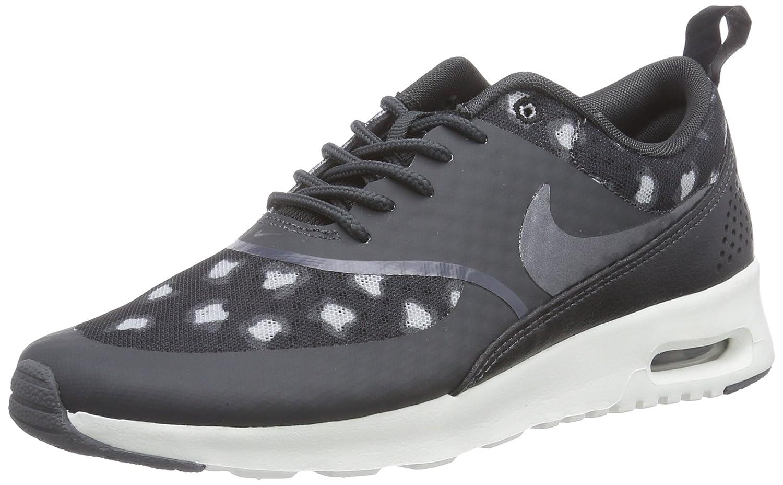 Nike WMNS Air Max Thea Print - Sneaker pour Femme, Black/Dark Grey-Anthracite-Wolf Grey-Summit White, Taille 39