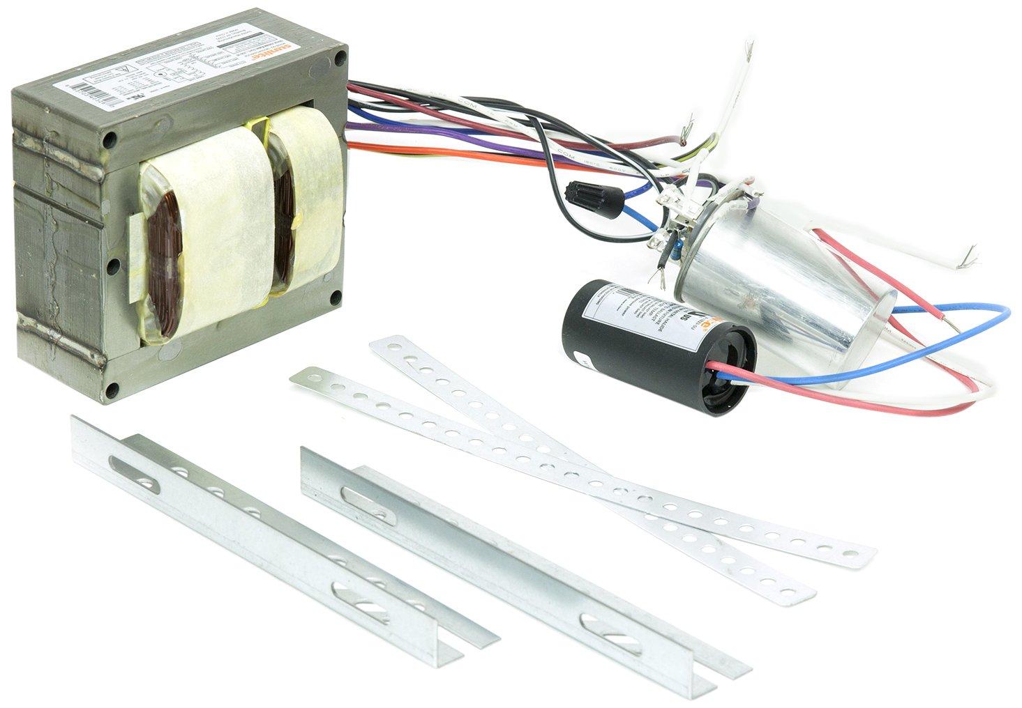 Sunlite 40326-SU SB250PS/MH/QT 250-watt Metal Halide Ballast Quad Tap Ballast Kit, Multi volt