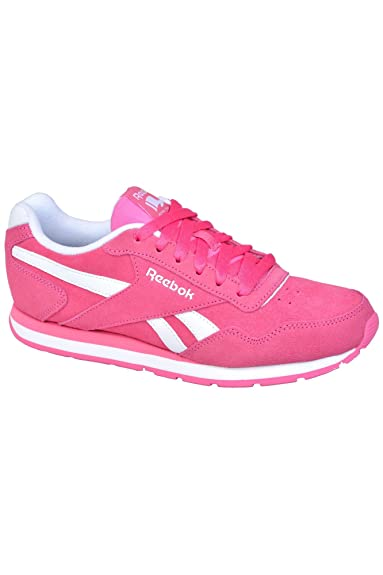Reebok ROYAL GLIDE women s trainers pink  Amazon.co.uk  Shoes   Bags 3353ab5dc