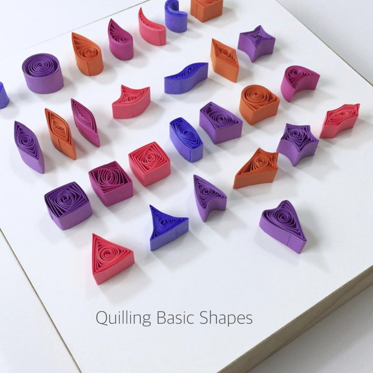 Lantee Quilling Supplies - 20 Sets of Quilling Paper Kits Include 8 Pack of 3mm 960 Quilling Paper Strips and 12 Quilling Tools by Lantee (Image #7)