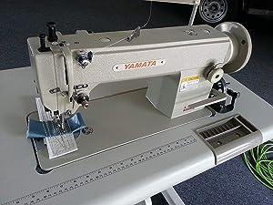 Yamata FY5318 Walking Foot lockstitch Sewing Machine Head only (No Motor, No Table)