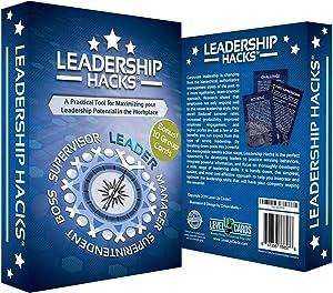 Leadership Hacks – Leadership Gift - A 52 Week Leadership Training Program for Empowering Leaders Based On Top Selling Leadership Books - It's The Manager, Atomic Habits, Leaders Eat Last