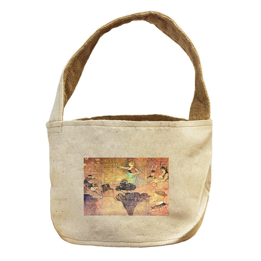 Style in Print Mauri Dance (Toulouse Lautrec) Canvas and Burlap Storage Basket Basket