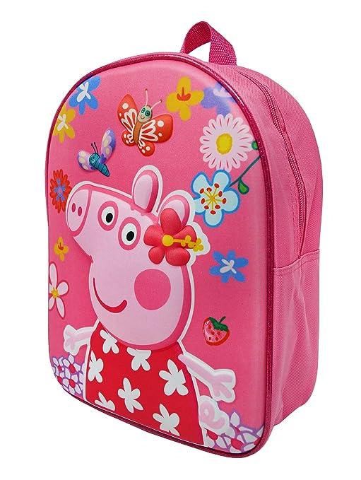 Hari Deals - Mochila infantil Niños unisex Multicolor Peppa Pig