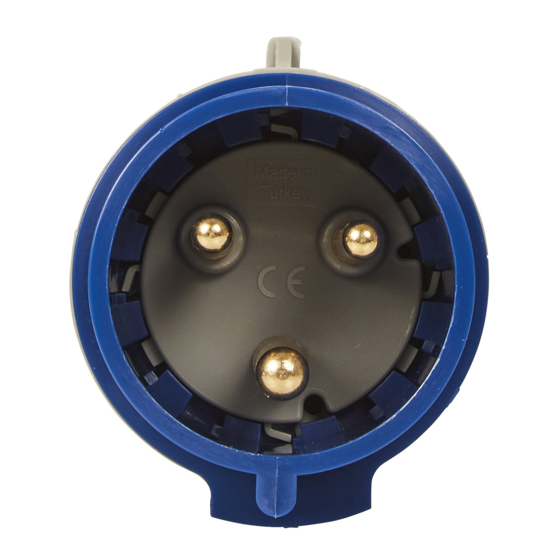 IK09 230/V//32/A IP44/Rated 6H 230/V Legrand 090107/CEE 32/A Plug//–/Blue 3/Pin 2P + PE