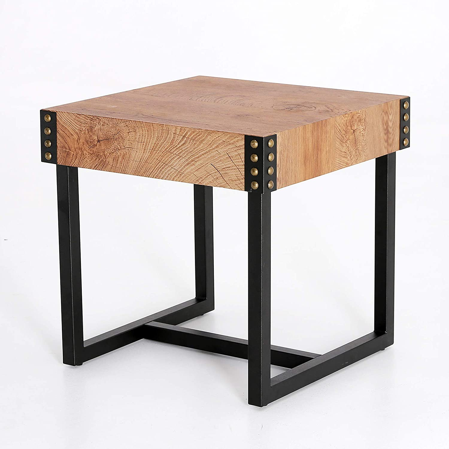 End Tables Side Table Night Table Rustic Modern Style with Thicker Table Top