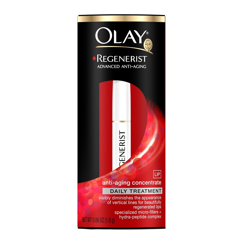 Amazon.com : Olay Regenerist Anti-Aging Lip Treatment 0.06 Ounce : Facial  Moisturizers : Beauty