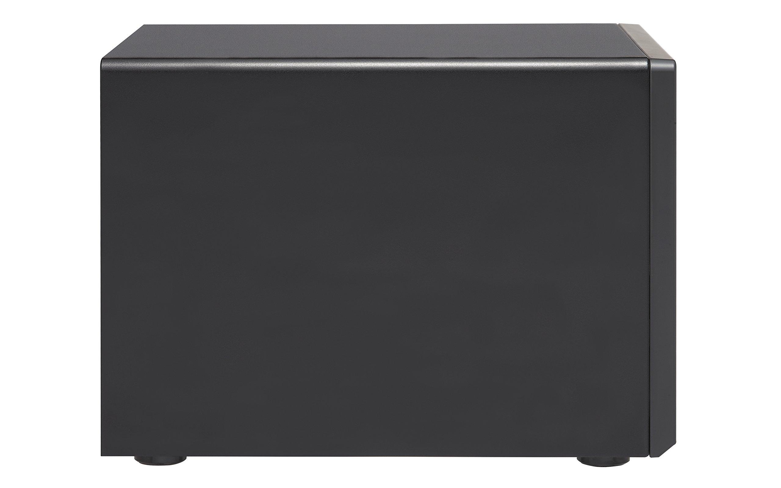 Qnap TVS-1282-i7-64G-US High Performance 12 bay (8+4) NAS/iSCSI IP-SAN, Intel Skylake Core i7-6700 3.4 GHz Quad Core, 32GB RAM, 10G-ready by QNAP (Image #3)