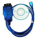 DingDong VAG409.1 VW/AUDI OBD2 VAG KKL USB OBD-II-2 KKL409.1 OBD2 VAG-COMの診断スキャナケーブルVW/AUDI/ SEAT/SKODA