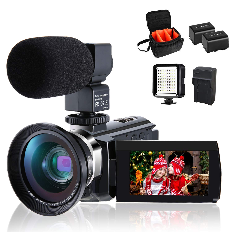 CofunKool Ultra 4K Camcorder
