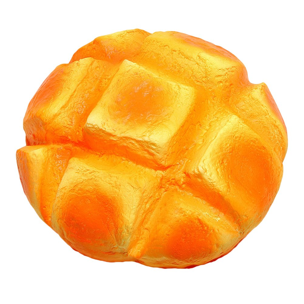 Bluelans Slow Rising Squishies Squeeze Toys,Pineapple Bun Slow Rising Bread Scented Squeeze Toy Kids Gift Stress Relief Xmas Gifts Christmas Party Favor Party Bag Stocking Fillers