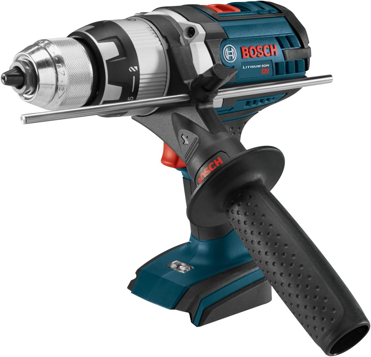 Bosch HDH181XB Bare-Tool 18V Brute Tough 1 2 Hammer Drill Driver with Active Response Technology