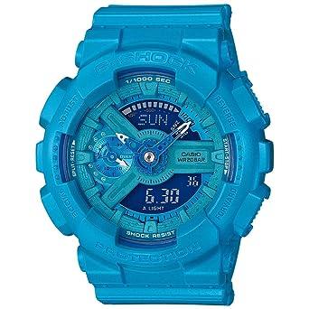 G-Shock gmas-110vc vívidos y Brillantes Serie - Azul/un tamaño: Amazon.es: Relojes