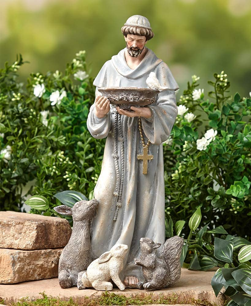 LCI St. Francis Garden Statue 14-1/2