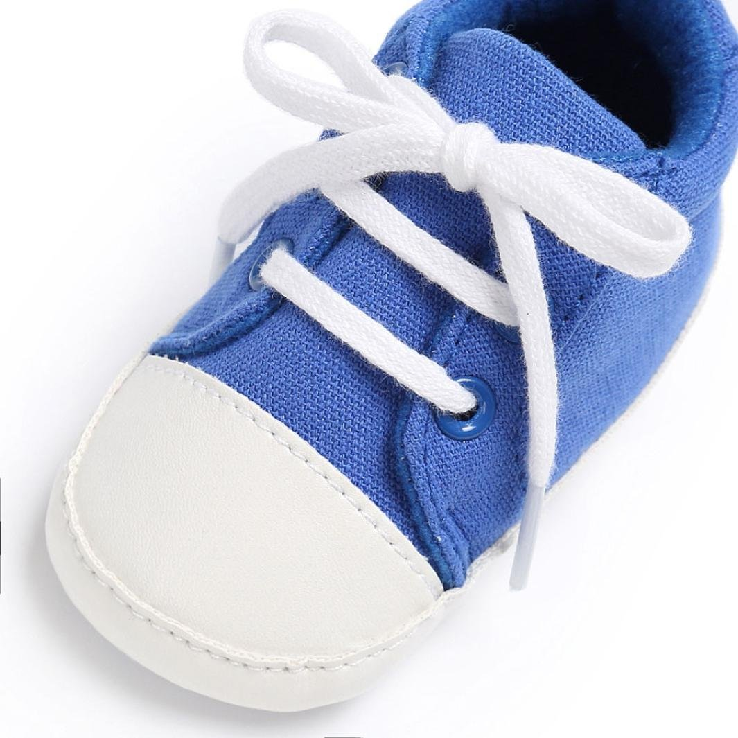 Sunsee Baby Shoes Boy Girl Newborn Crib Soft Sole Shoe Sneakers