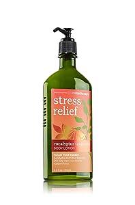 Bath & Body Works Aromatherapy Stress Relief Eucalyptus Tangerine Body Lotion 6.5 Oz.