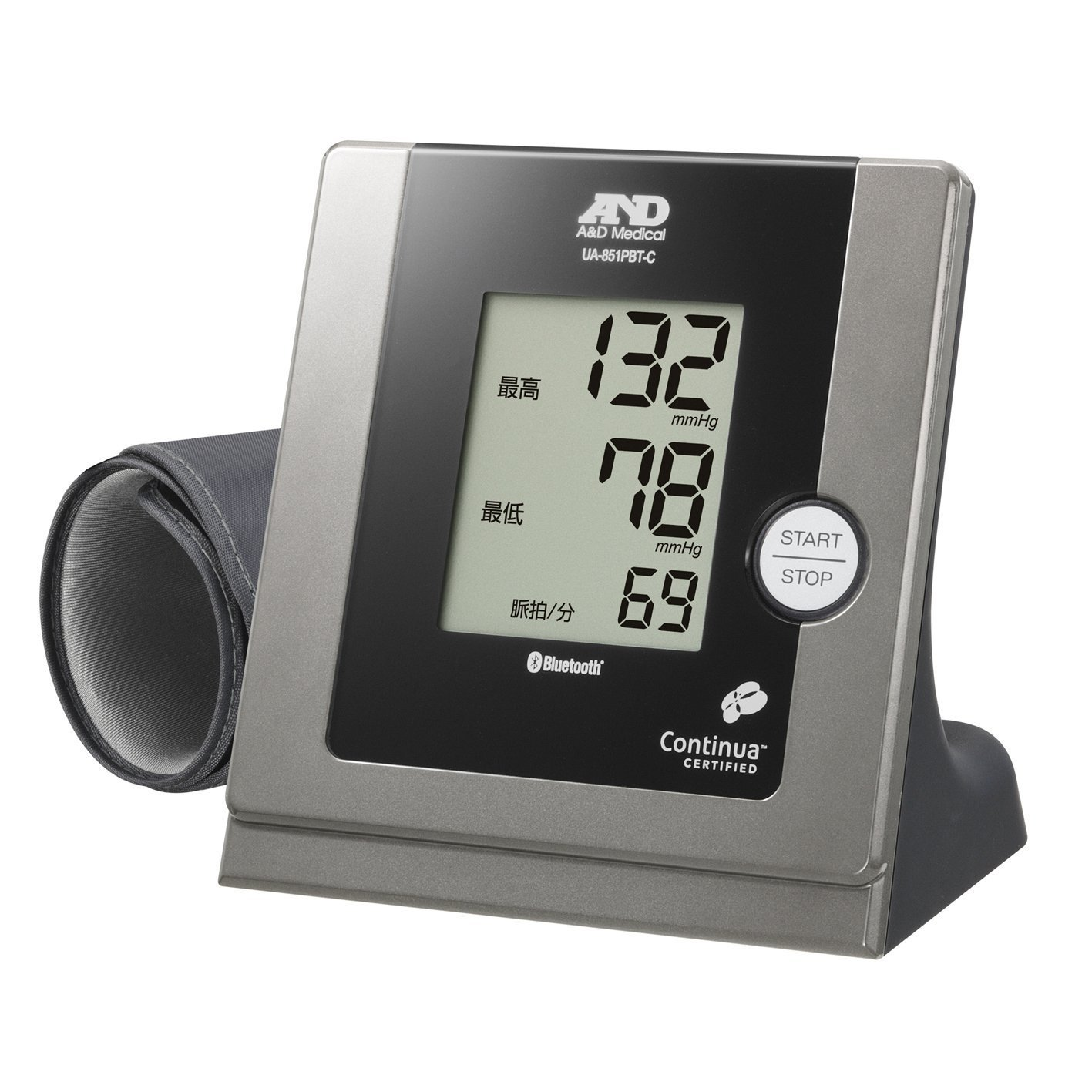 iPhone/iPadにBluetoothでつながる家庭用血圧計 UA-851BTC-JC B00H9Z98DO