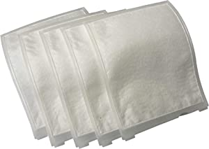 CF Clean Fairy 2846 Exhaust Filter Compatible with Windsor Sensor S Series S12 and S15 Commercial Upright Vacuums (5pcs) Replacement for 8.614-140.0