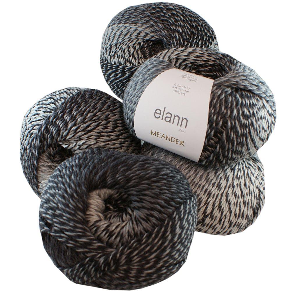 elann Meander Yarn | 5 Ball Bag | 510 Manhattan