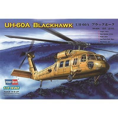 Hobby Boss UH-60 Blackhawk Helicopter Model Building Kit: Toys & Games