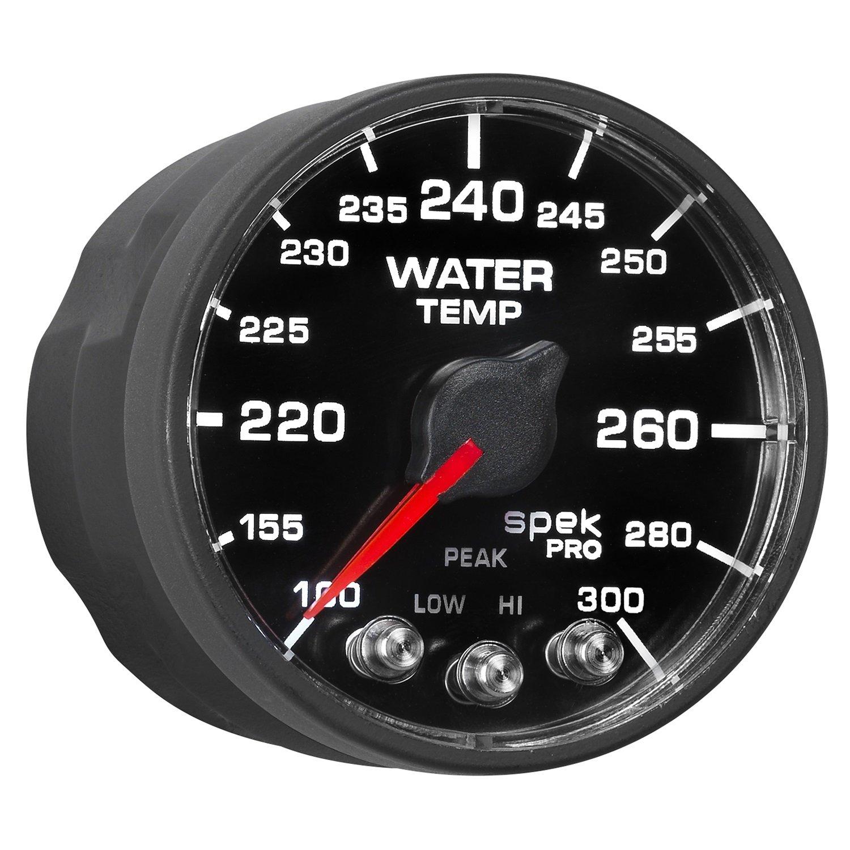 Auto Meter AutoMeter P546328-N2 Pro-Nascar 2-1/16'' Water Temp, 100-300`F, BFB, ECU, Spek Nl
