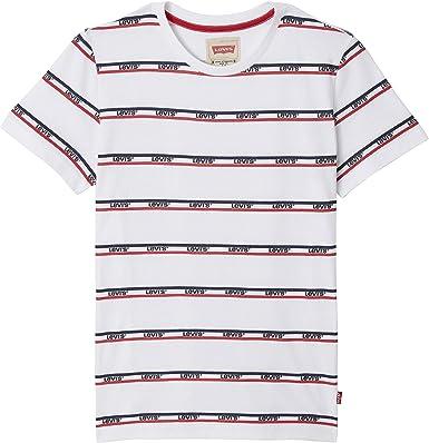 Levis kids Nn10077 Short Sleeve tee-Shirt Camiseta, Marfil (Écru 11), 4 años (Talla del Fabricante: 4Y) para Niños: Amazon.es: Ropa y accesorios