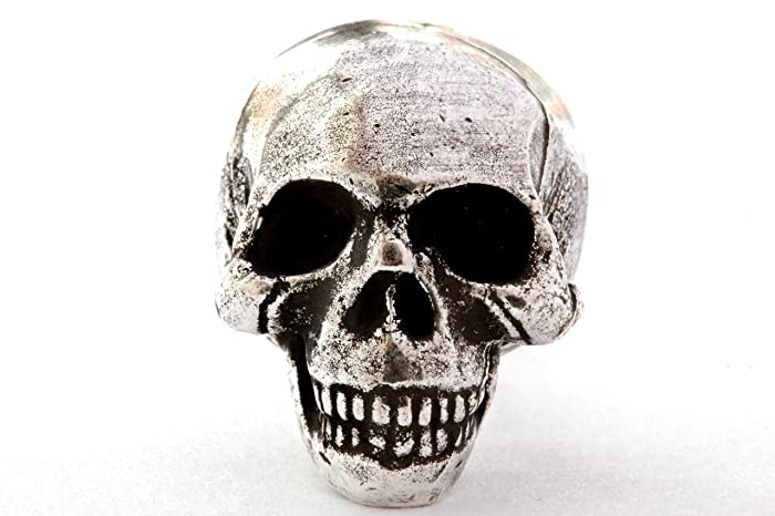 Solid Metal Skull Cabinet Knob Drawer Pull Made In NYC
