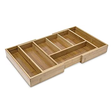 amazing relaxdays ajustable organiseur de tiroir extensible hxlxp x with organiseur de tiroir. Black Bedroom Furniture Sets. Home Design Ideas