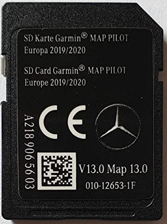 Tarjeta SD GPS Mercedes Garmin Map Pilot Europe 2019-2020 - STAR1 - v13 - A2189065603