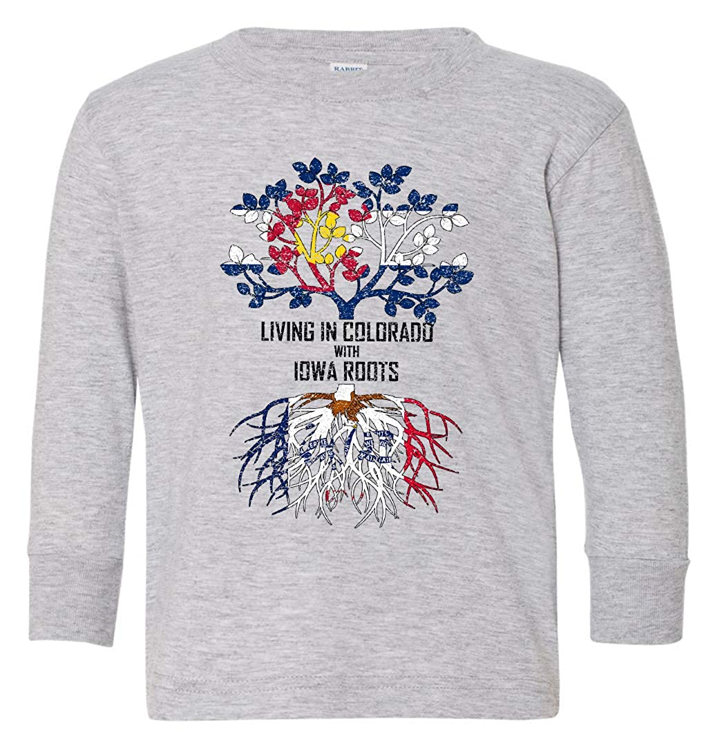 Tenacitee Babys Living in Colorado Iowa Roots Shirt