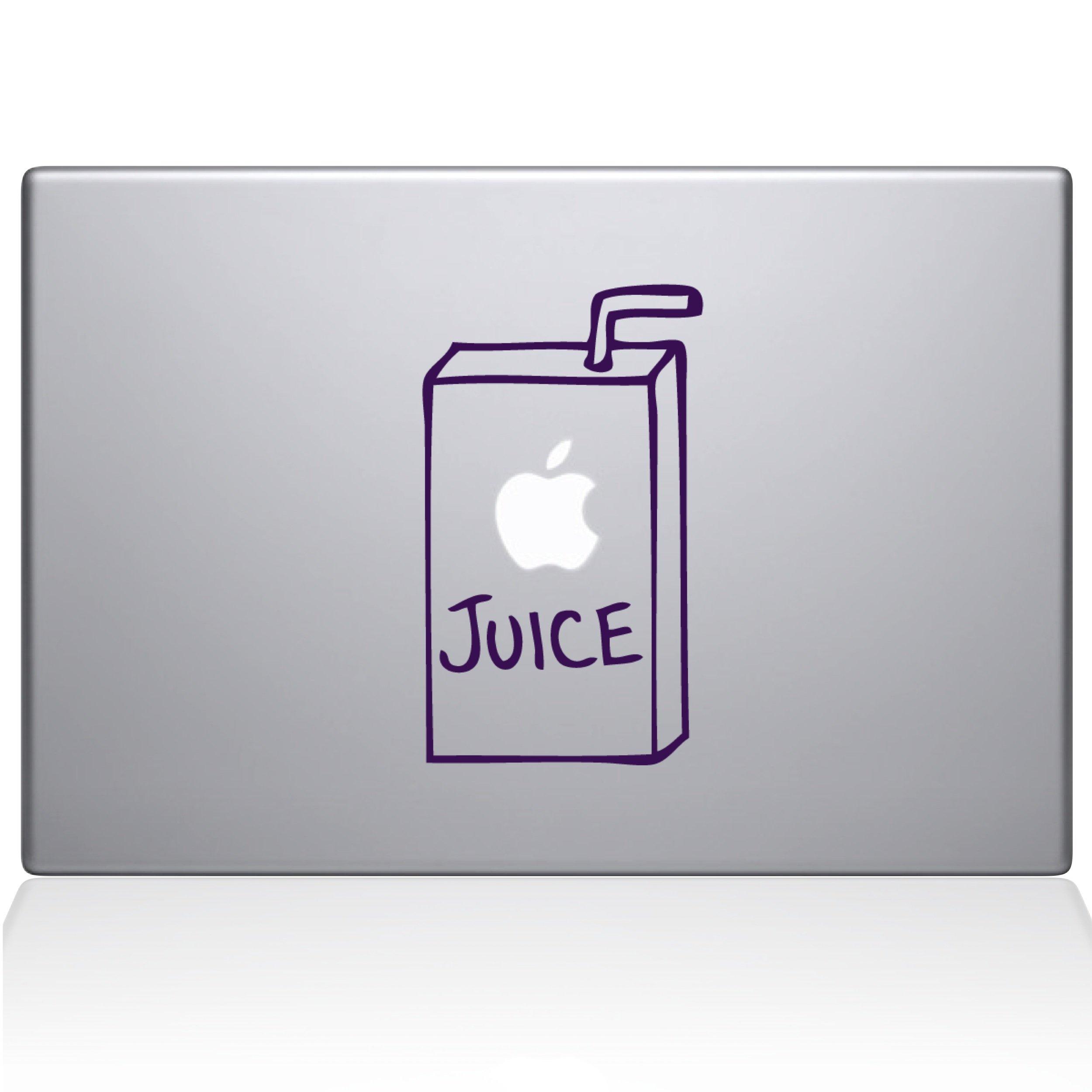 The Decal Guru 1008-MAC-15X-LAV Apple Juice Vinyl Sticker, 15'' Macbook Pro (2016 & newer), Purple