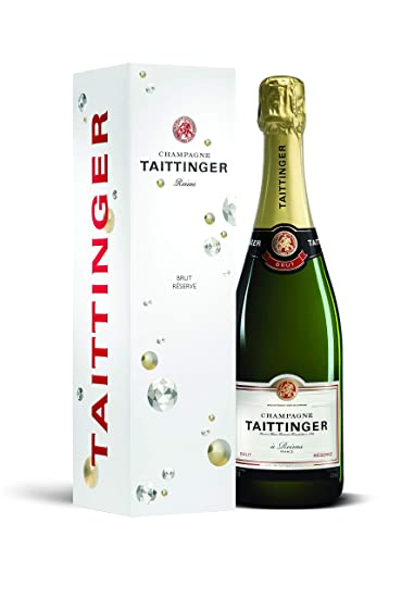 Taittinger Brut Reserve Non Vintage Champagne With Gift Box 75 Cl