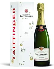 Taittinger Brut Reserve Non Vintage Champagne with Gift Box, 75 cl